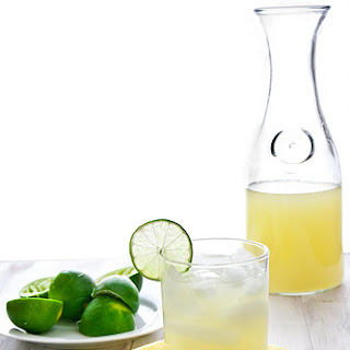 Homemade Margarita Mix & Classic Lime Margarita