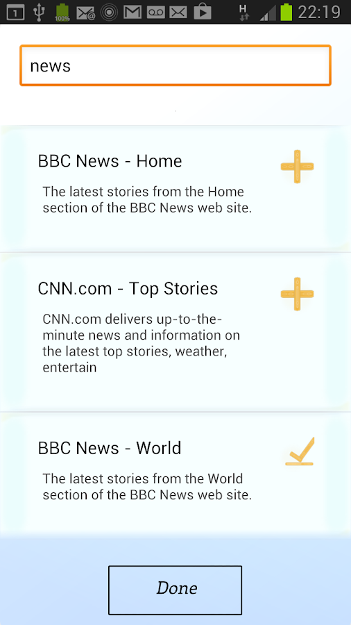 Indulge - All News In One App - screenshot