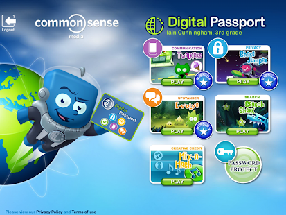 Digital Passport Classroom Ed. - screenshot thumbnail