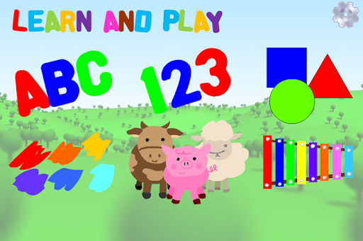 Kids ABC 123 Shapes Games Fun