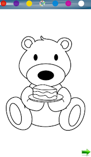 Teddy Coloring Game