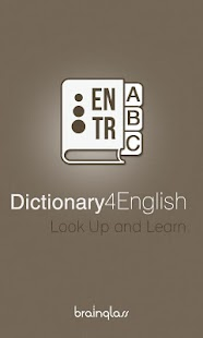 Dictionary 4 English - Turkish - screenshot thumbnail
