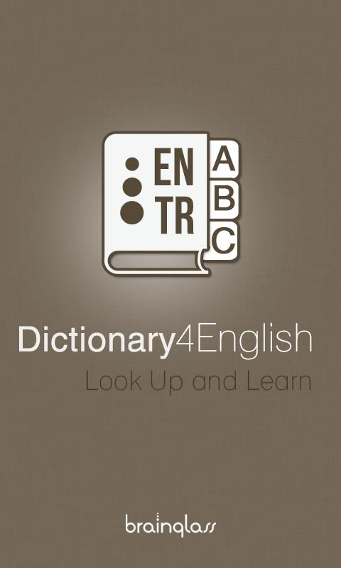 Dictionary 4 English - Turkish - screenshot
