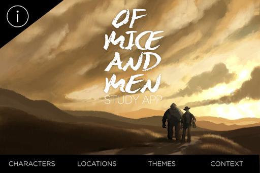 Of Mice And Men Study App