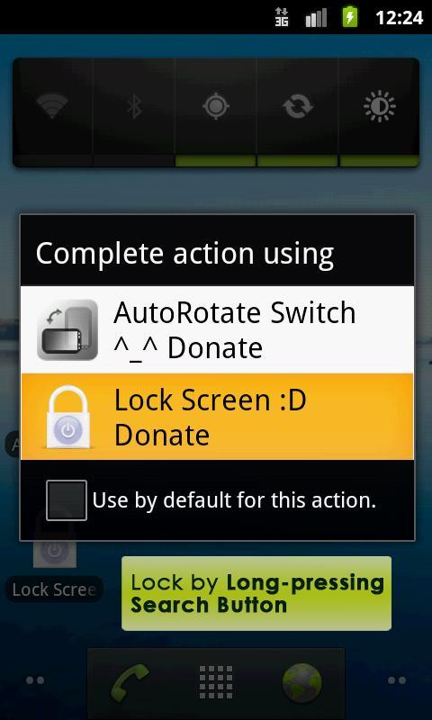 Lock Screen App - Donation- screenshot