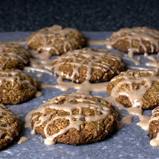 Iced Oatmeal Cookies.