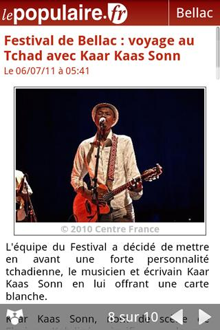 lepopulaire.fr - screenshot