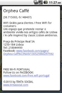 Free Wi-Fi Portugal - screenshot thumbnail