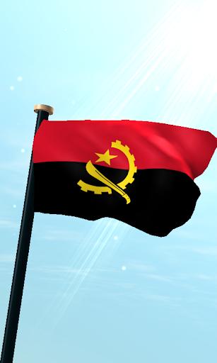 Angola Flag 3D Live Wallpaper