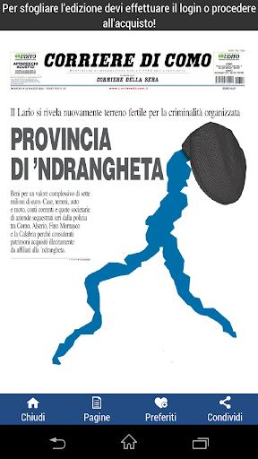 【免費新聞App】Corriere di Como-APP點子