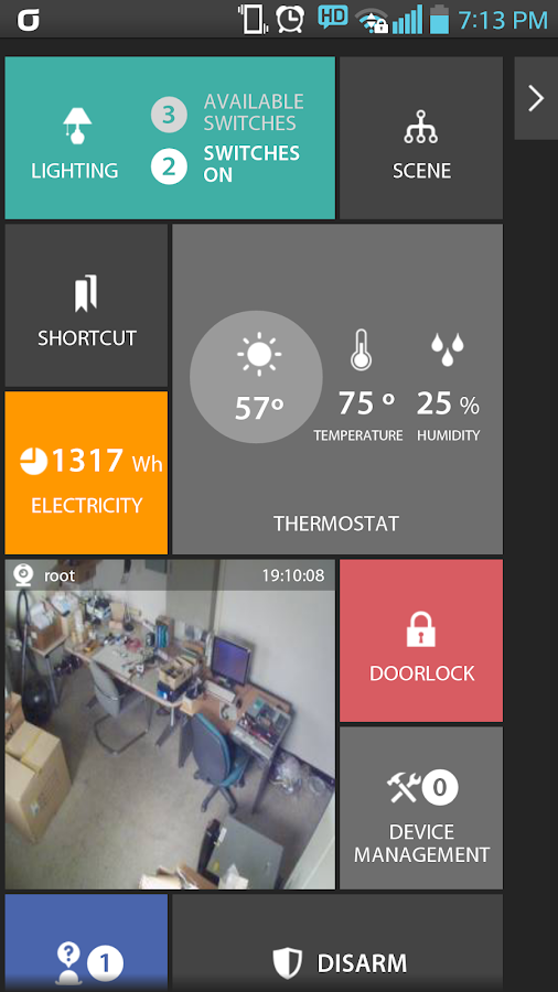 Enblink - Smart Home- screenshot