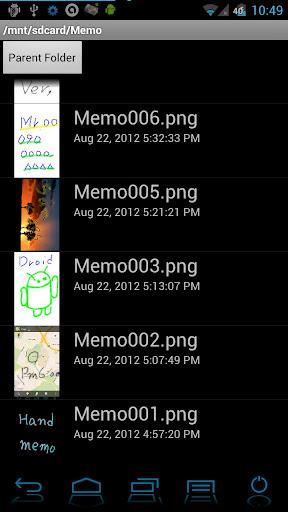 【免費生產應用App】Handwritten notes Finger Memo-APP點子