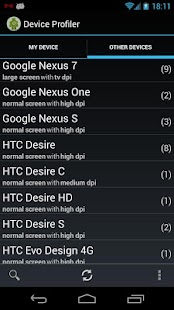Device Profiler - screenshot thumbnail