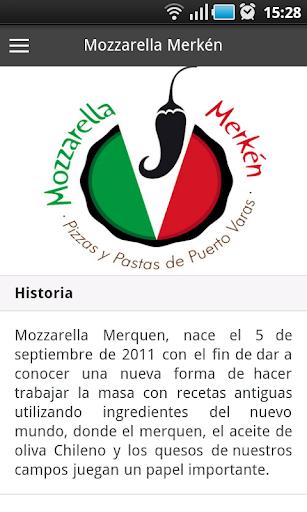 Mozzarella Merkén App