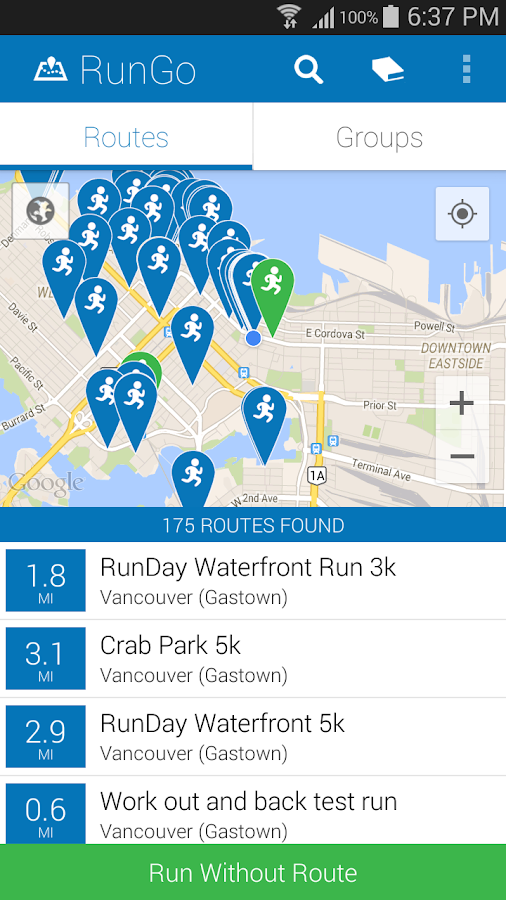 RunGo - Voice Guided Running - Android Apps on Google Play