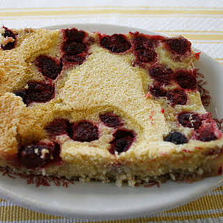 Raspberry Kuchen Bars.