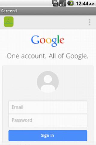 Google Dev Console -Tablet-
