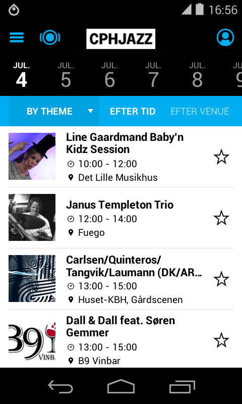 CPHJAZZ / Copenhagen Jazz Fest - screenshot