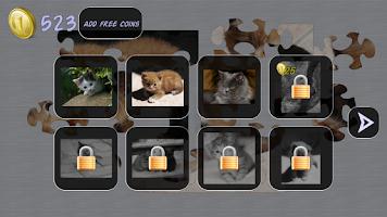 Screenshot of Cats Puzzle