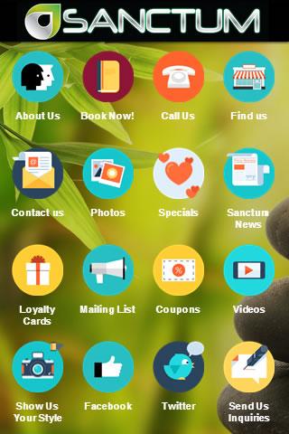 Sanctum Salon Spa app