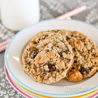 Flour Free Oatmeal Cookies