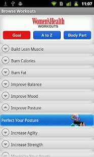 Women's Health Workouts - screenshot thumbnail