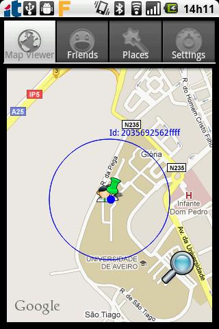 Wireless Sensor Location- screenshot