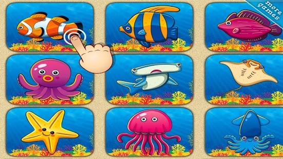 Ocean Life Dot To Dot for Kids - screenshot thumbnail