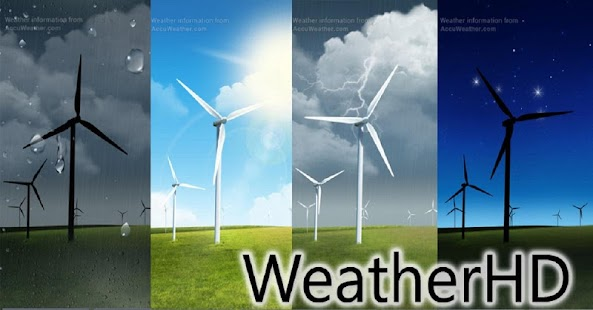 Weather HD Screenshot Thumbnail