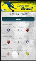 Screenshot of Copa do Brasil 2013