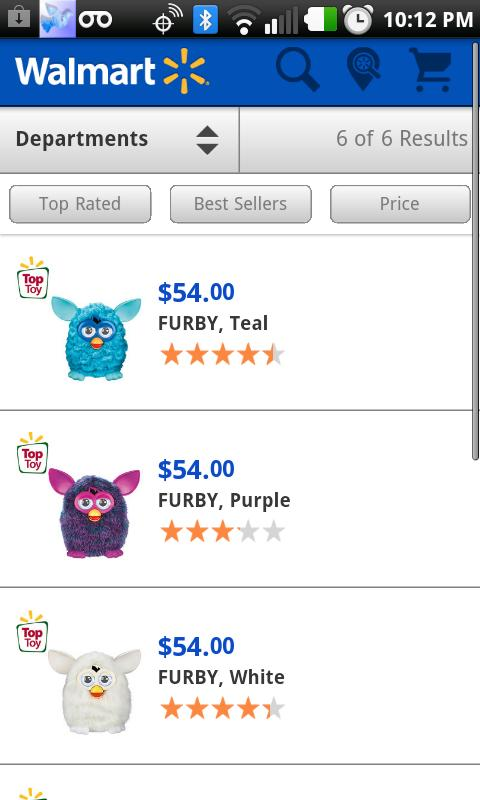 Find A Furby- screenshot
