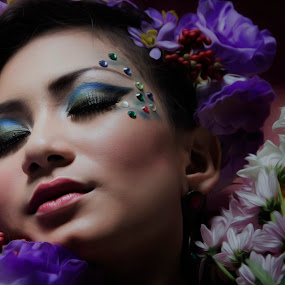 Beauty n colours by Diaz Fachry - People Portraits of Women ( model, beauty, colours )