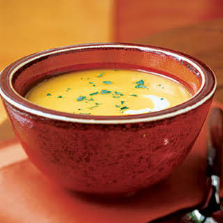 Curry Ginger Butternut Squash Soup.
