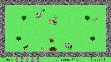 Screenshot of Bible Run Arcade Bible Game