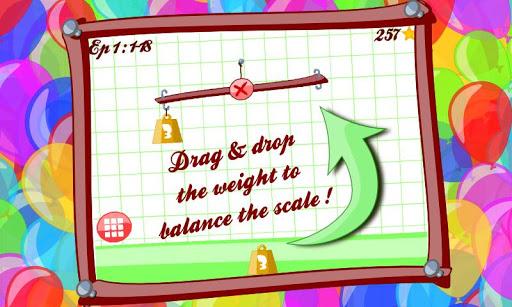 Balance me Lite math puzzle