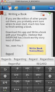 BookWriter (Notes/Book/Diary) - screenshot thumbnail