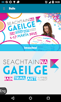 Screenshot of Seachtain na Gaeilge 2015