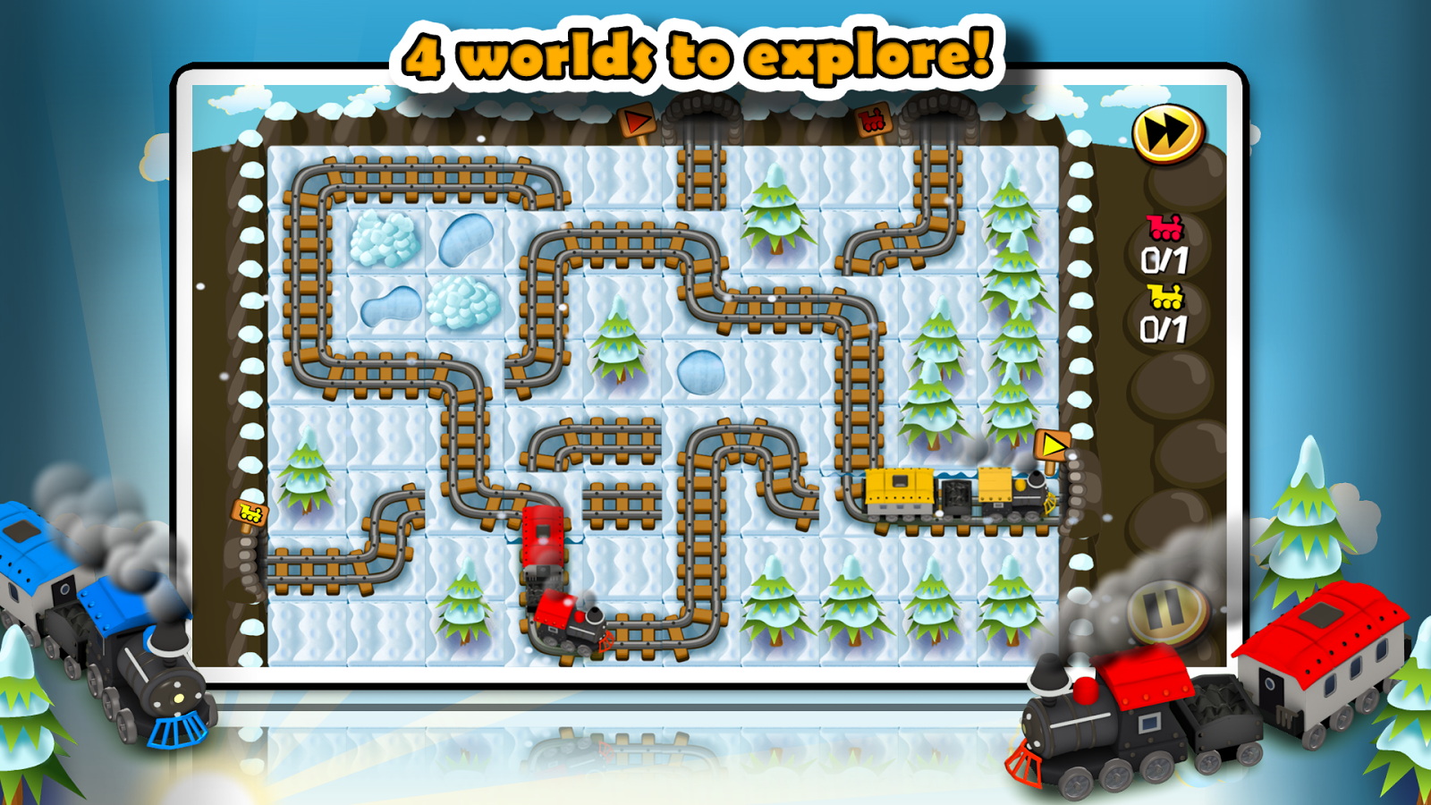 Train Tiles Express Puzzle- screenshot