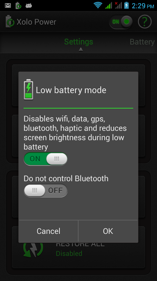 Xolo Power- screenshot