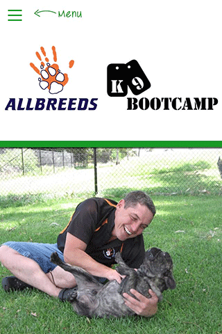 Allbreeds K9 Bootcamp- screenshot