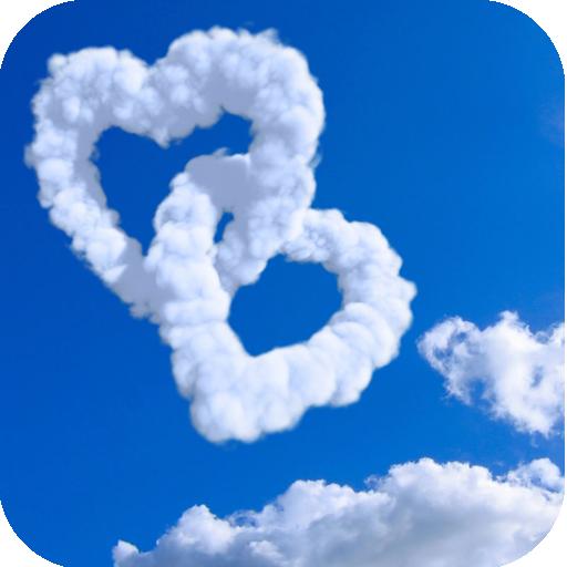 Sky and Flaky clouds LOGO-APP點子
