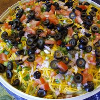 Mexican Layered Dip.