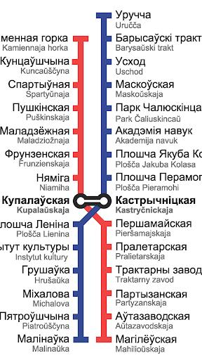 【免費交通運輸App】Мінскі метрапалітэн-APP點子