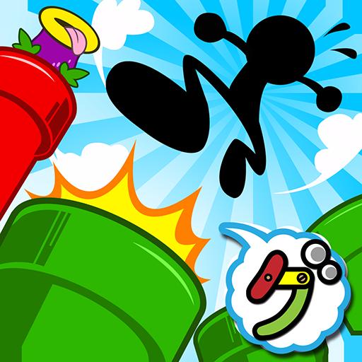家庭片の土管ドッカーン! LOGO-記事Game