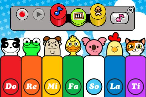 Baby Piano Lite - screenshot