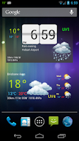 Screenshot of Au Weather Free