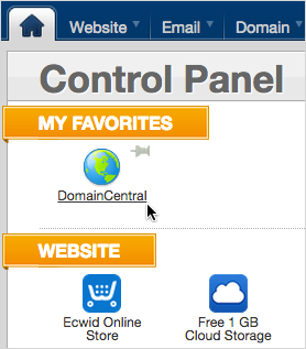 Domain Central icon