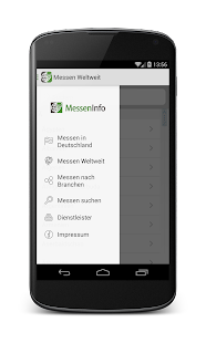 Messeninfo – Miniaturansicht des Screenshots