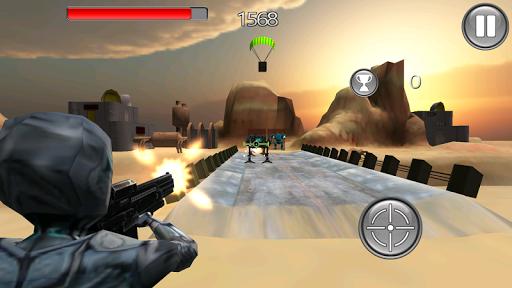 防御敌人机器3D