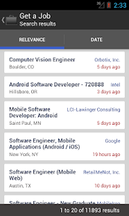 Get a Job - screenshot thumbnail